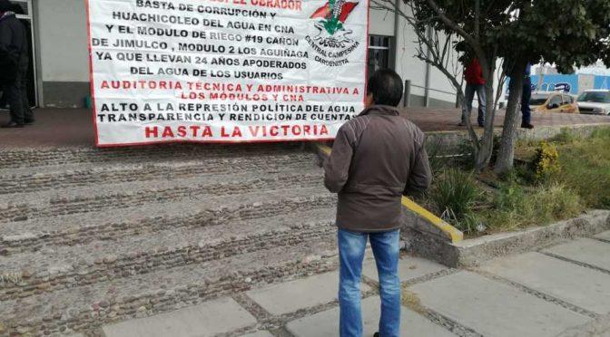 Coahuila: Realizan manifestación contra propuesta de Ley General de Aguas (Milenio)