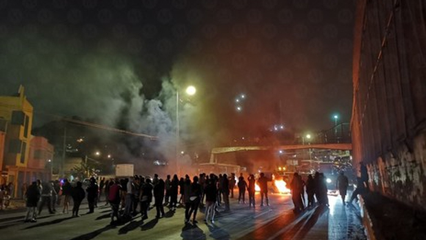 CDMX: Con llantas y fuego, bloquean Circuito Interior por falta de agua (Milenio)