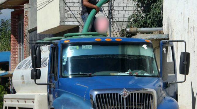 Oaxaca: Se convierte en crisis el desabasto de agua (Imparcial)