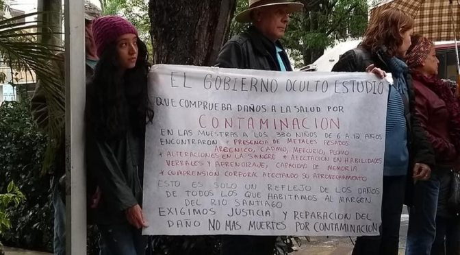 Guadalajara: Pobladores alrededor del Río Santiago se quejan ante CEDHJ (Milenio)