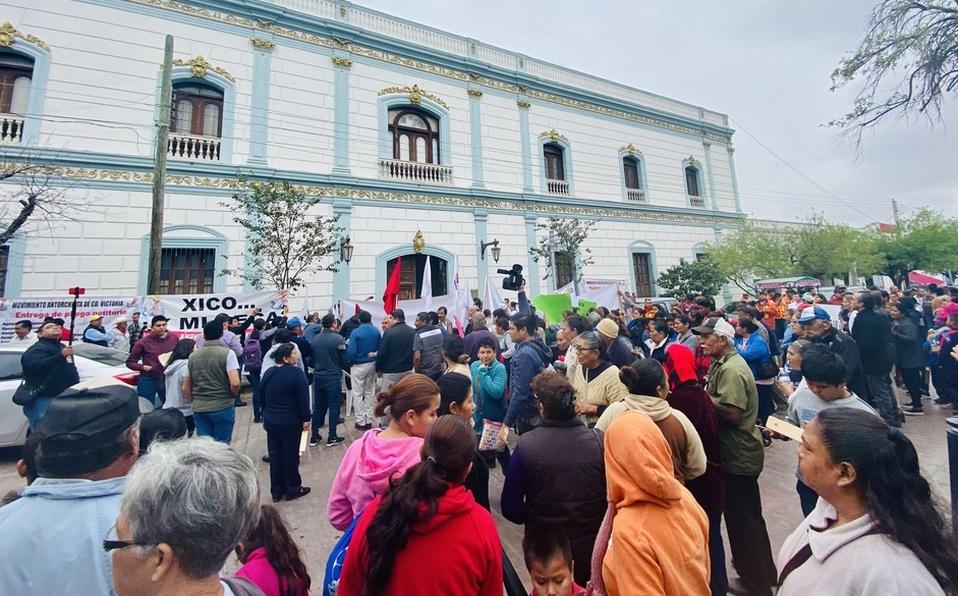 Ciudad Victoria: Exigen salida de Xico, alcalde por crisis de agua (Milenio)