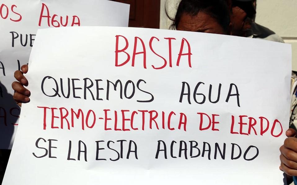 Coahuila: exigen cancelar 9 pozos a Termoeléctrica (El Siglo de Torreón)