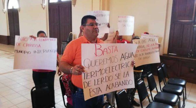 Durango: Ejidatarios de Lerdo piden alto a termoeléctrica (Milenio)