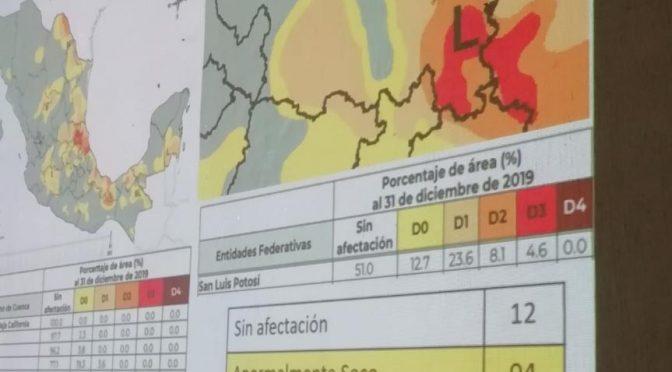 San Luis Potosí: Declaratoria de Sequía Extrema emite CONAGUA para el estado (Código San Luis)