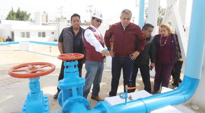 Estado de México: Inauguran nuevo sistema de agua para abastecer a 20 mil habitantes en Ecatepec (Milenio)