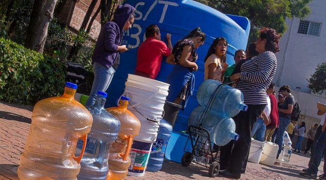 Escasez de agua en la CDMX podría agravarse (Siete-24)