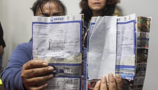 Zacatecas: continúan quejas por aumentos a agua potable (NTR)