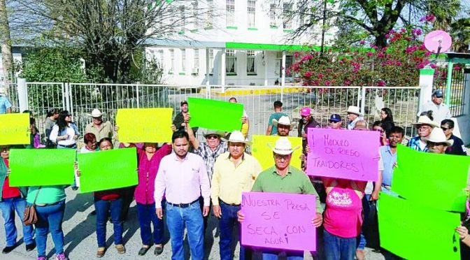 Nuevo Laredo: Cierran oficinas de CONAGUA (El Mañana)