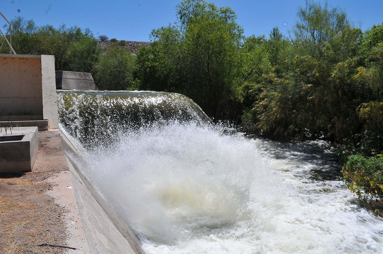 Coahuila: Cierran compuertas del sistema de presas del Río Nazas (Milenio)