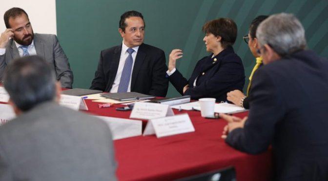 Quintana Roo: Firma convenio con la CONAGUA: gestiona gobernador en CDMX más recursos para obras de agua potable,alcantarillado y saneamiento (Noticaribe)