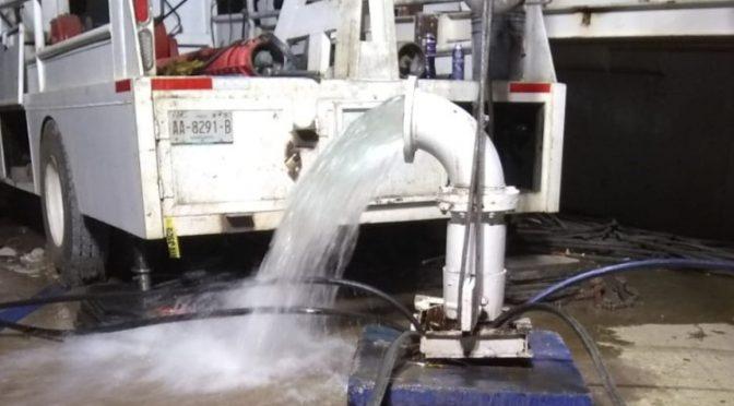 Trabaja Inagua y gobierno de Aguascalientes en el abastecimiento de agua (LJA)