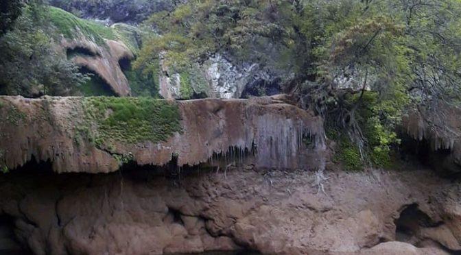 San Luis Potosí: sin agua cascadas de la Huasteca Potosina (El Sol de San Luis)
