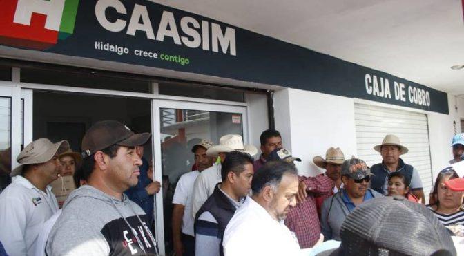 Hidalgo: Quejas contra Caasim por falta de agua potable (El Sol de Hidalgo)