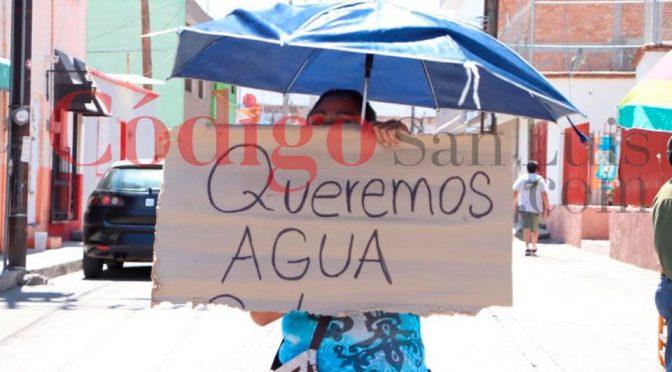 En plena contingencia sanitaria, San Luis no tiene agua (Código San Luis)