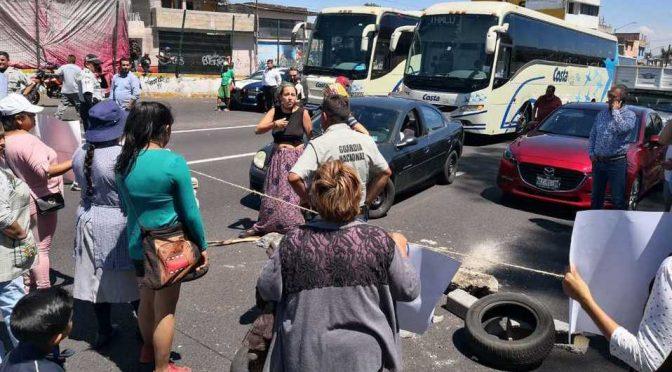 CDMX: Tras cuatro horas, quitan bloqueo de autopista México-Cuernavaca (Milenio)