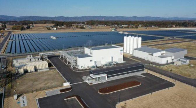 Consorcio japonés pone en marcha la planta de hidrógeno verde más grande del mundo en Fukushima (Foro del agua)