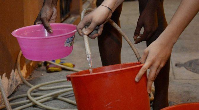 Ecuador: Corte de agua se registró en Mucho Lote (El Universo)