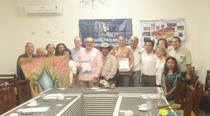 Yucatán: Senadores se suman a Iniciativa Ciudadana de Ley General de Aguas (La Jornada Maya)