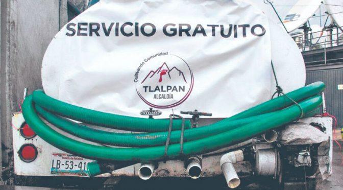 CDMX: arranca Tlalpan plan emergente ante falta de agua (24 Horas)