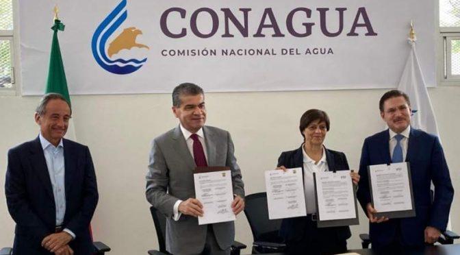 Coahuila: Firman acuerdo de coordinación MARS y la comisión nacional del agua (El Diario de Coahuila)
