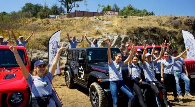 Edomex: Jeep ayudó a limpiar la Presa Madín (publimetro)