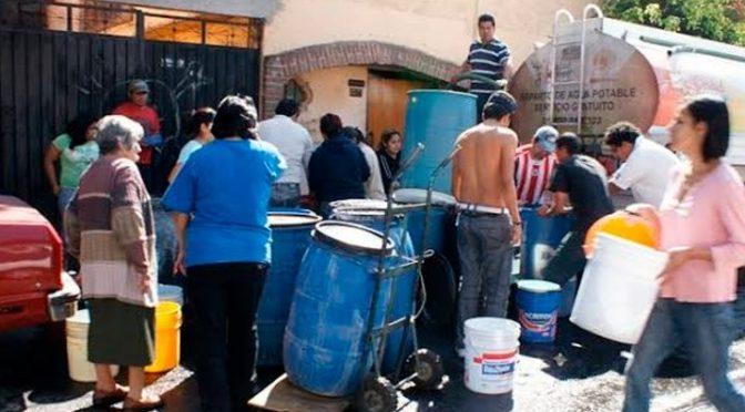 Mitad de México sin acceso a agua ¡en plena crisis del Coronavirus! (La Verdad)