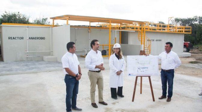 Quintana Roo: tiene Cozumel nueva recicladora de aguas residuales (La Verdad)