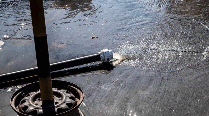 Zacatecas: se desperdician millones de litros de agua por un descuido (El Sol de Zacatecas)