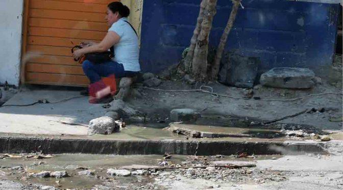 Chiapas: Persisten fugas de agua en plena contingencia (Diario de Chiapas)