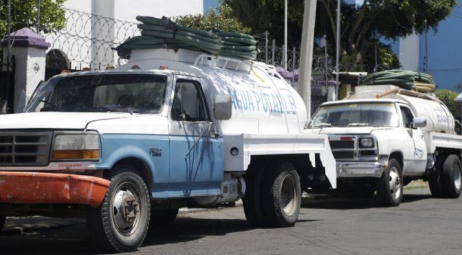 Gobierno de Puebla entregará 400 pipas de agua diarias en el municipio de Puebla mientras dure la pandemia (Central)