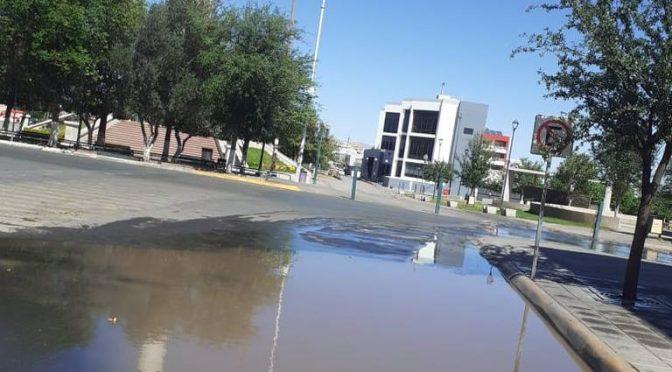 Chihuahua: Fugas de agua potable inundan el Centro (El Heraldo de Chihuahua)