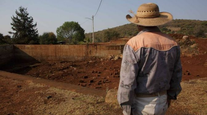 Michoacán: Sin agua enfrentan pandemia de Covid 19 (El Sol de Zamora)