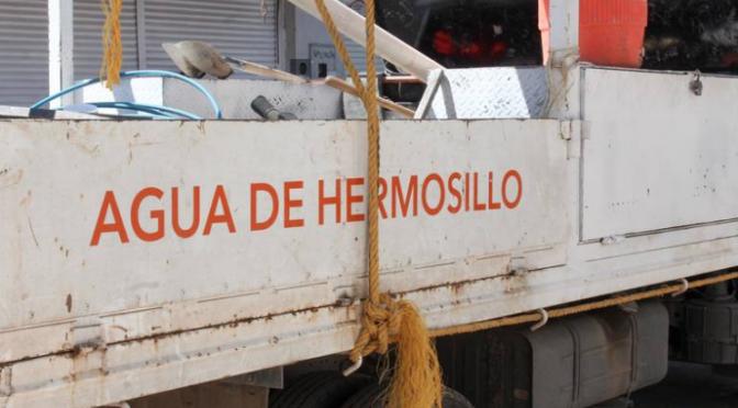 Sonora: Calor y cuarentena aumenta demanda de agua potable en Hermosillo (El Sol de Hermosillo)