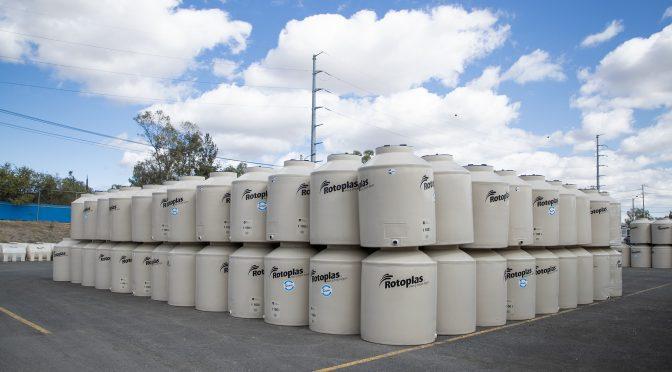 Rotoplas y Conagua unen esfuerzos para asegurar abastecimiento de agua y contener contagios por COVID-19