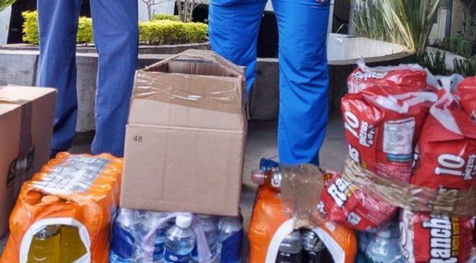 CDMX: Con agua, electrolitos y snacks, Fuerza Médica apoya a médicos en su lucha contra el Covid-19 (24 horas)