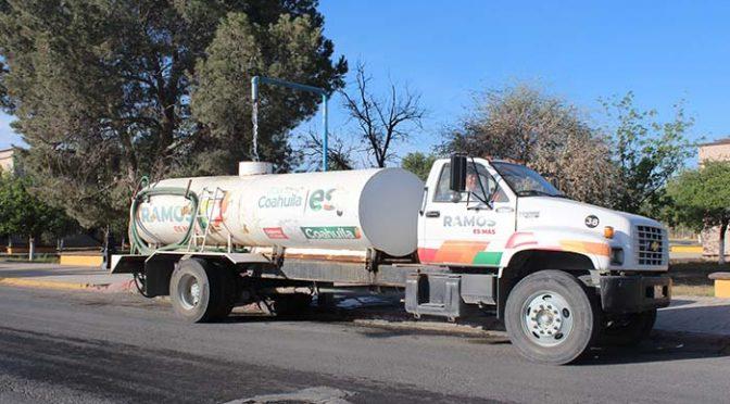 Coahuila: Será más eficiente suministro de agua (La Prensa de Monclova)