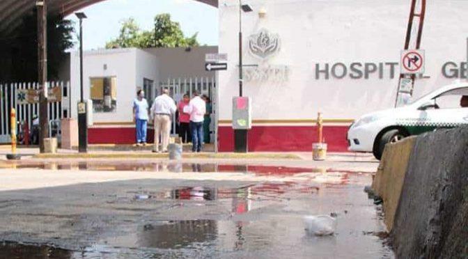 San Luis Potosí: Denuncian gran fuga de agua en Diez Gutiérrez (Pulso)