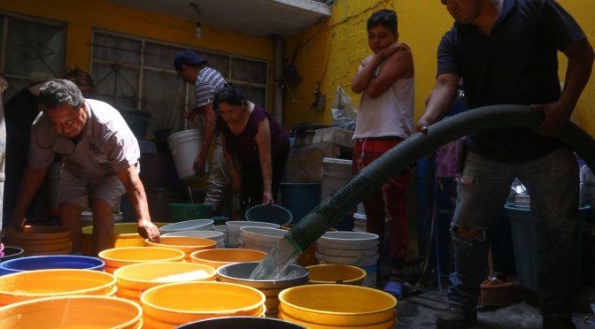 CDMX: Iztapalapa busca atender a 60,000 familias con problemas de falta de agua (Expansión)
