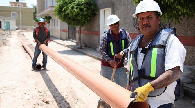 Guanajuato: Construyen sistemas de agua potable en comunidades de San Diego de la Unión (Gobierno del Estado de Guanajuato)