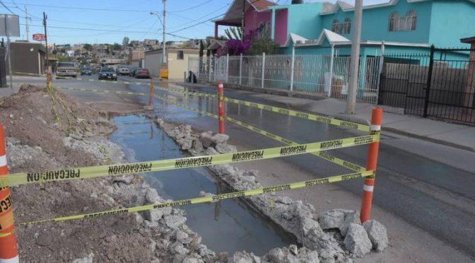 Chihuahua: Reportan mega fuga de agua en la Valle de Madrid (El Heraldo de Chihuahua)