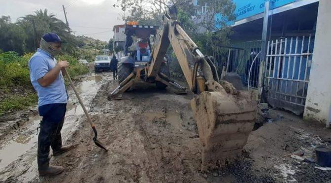 Baja California: Reanudan suministro de agua en la colonia Sexto Ayuntamiento (El Vigía)