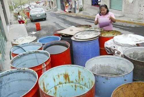 Michoacán: Protestan por falta de agua en Tlalpujahua (La Jornada)