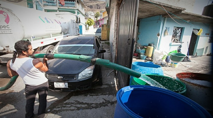 EdoMex: Reducen suministro de agua en varias colonias de Ecatepec (La Jornada)