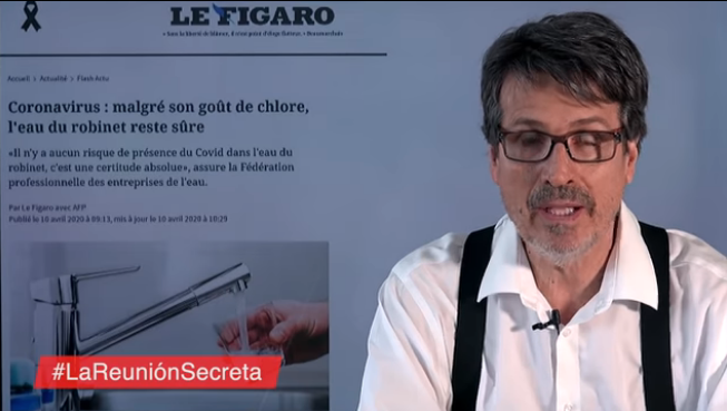 Francia: El doctor Gaona alerta de la presencia de coronavirus en el agua no potable (La Vanguardia)