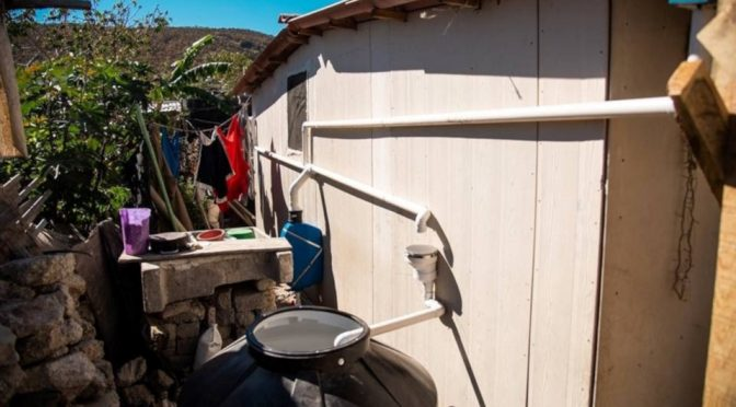 México: Por covid-19, TECHO instala sistemas de captación de agua (Milenio)