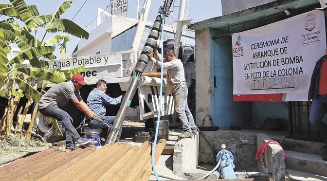 Morelos: Garantizan abasto de agua en Jiutepec (Diario de Morelos)