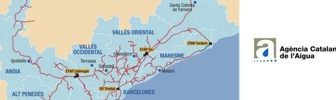 España: La producción de agua en el sistema Ter Llobregat durante el COVID-19 baja a volúmenes inferiores al de un día festivo (Aguas Residuales)