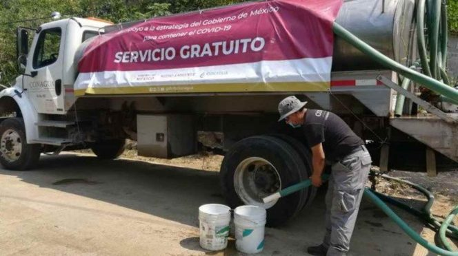 México: Mantienen operativos de abasto de agua a hospitales (Excelsior)