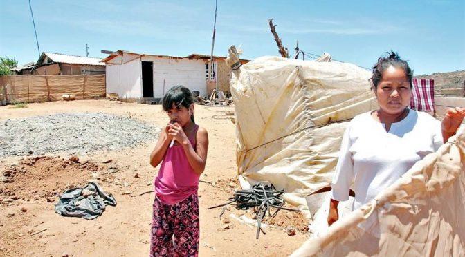 Baja California: Claman agua y comida jornaleros de San Quintín (Reforma)