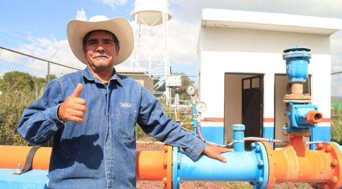 Guanajuato: Más y mejores servicios de agua en Abasolo y Pénjamo (Gobierno del Estado de Guanajuato)